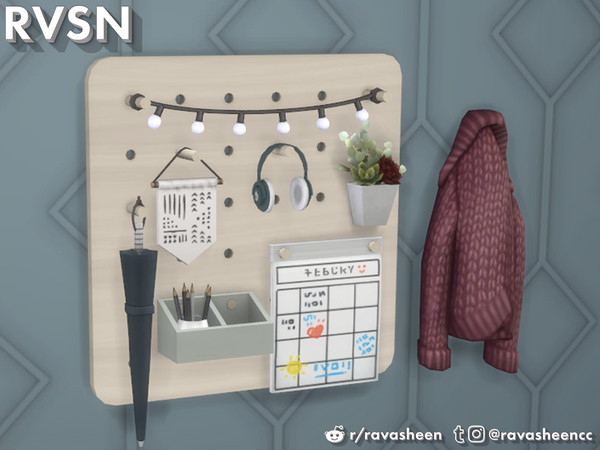 Peg To Differ - Entryway Set by RAVASHEEN