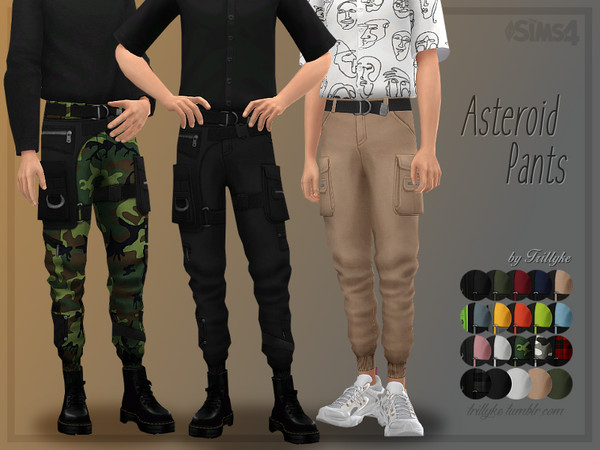 Trillyke - Asteroid Pants