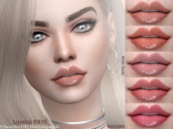 Lipstick NB35 by MSQSIMS