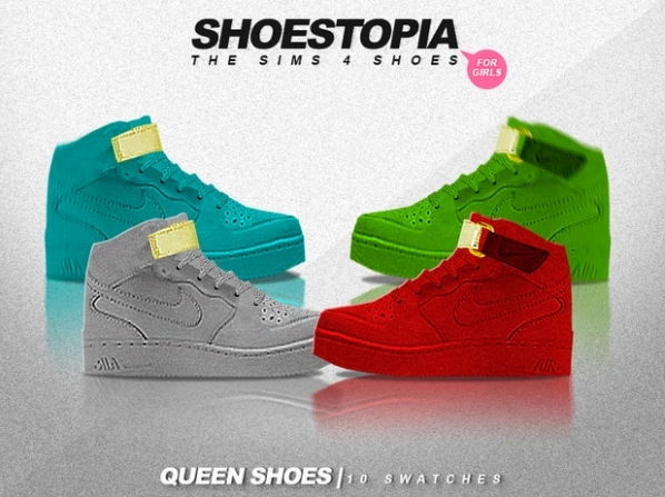 Queen shoes by Shoestopia