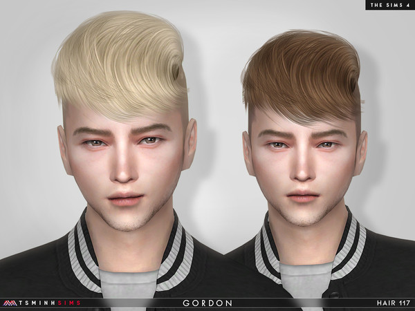 Gordon (Hair 117) by TsminhSims