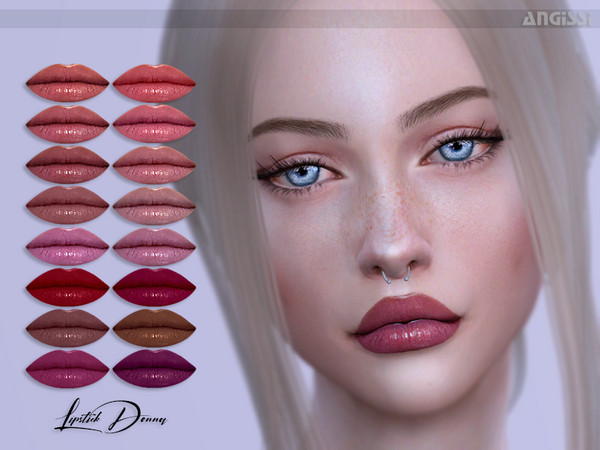 Lipstick-Donna by ANGISSI