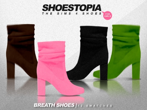 Breath Shoes by Shoestopia