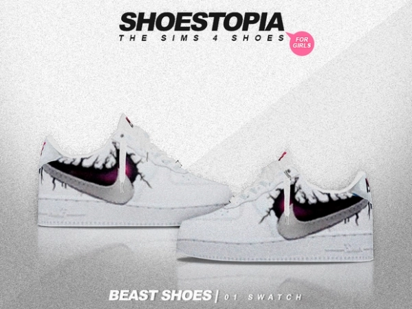 Beast Shoes by Shoestopia
