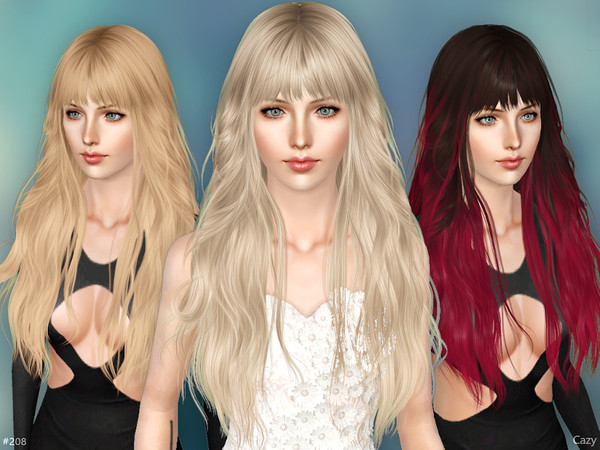 Female Hairstyle02 - Sims 3 by Cazy