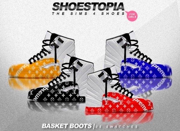 Basket Shoes by Shoestopia