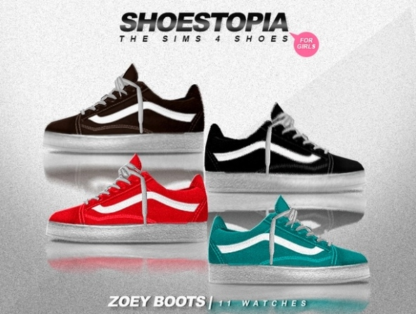 Zoey Shoes by Shoestopia