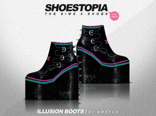 Ilusion Shoes by Shoestopia