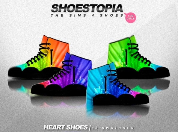 Heart Shoes by Shoestopia