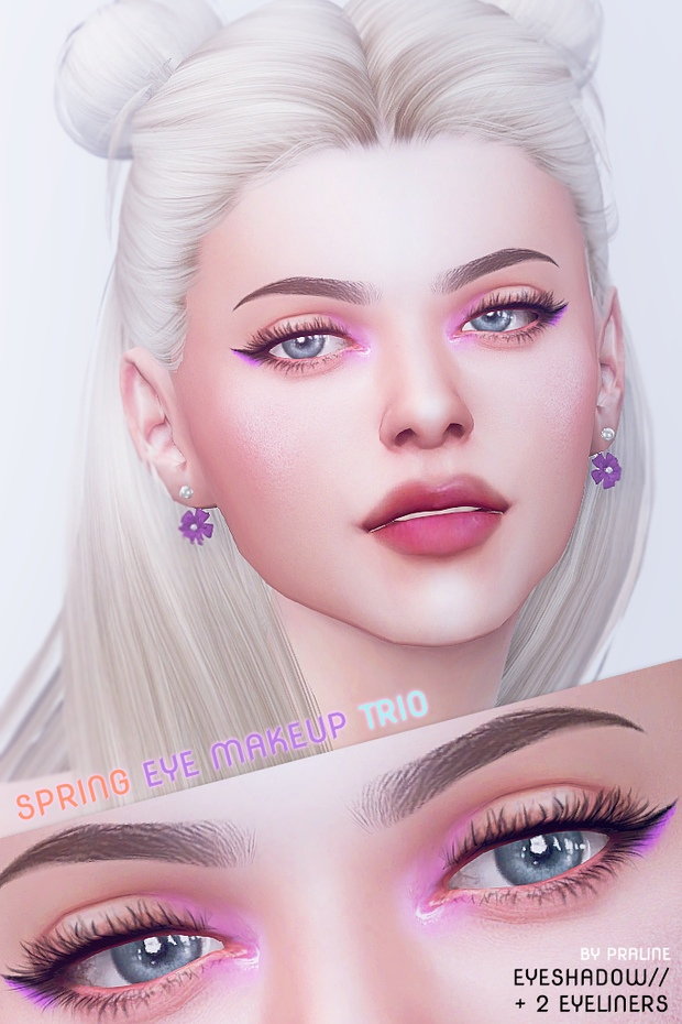 SPRING Eye Makeup Trio by Pralinesims