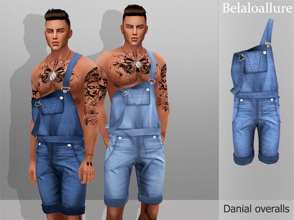Danial overalls by belal1997