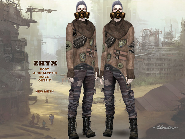ZHYX - Post Apocalyptic Outfit by Helsoseira