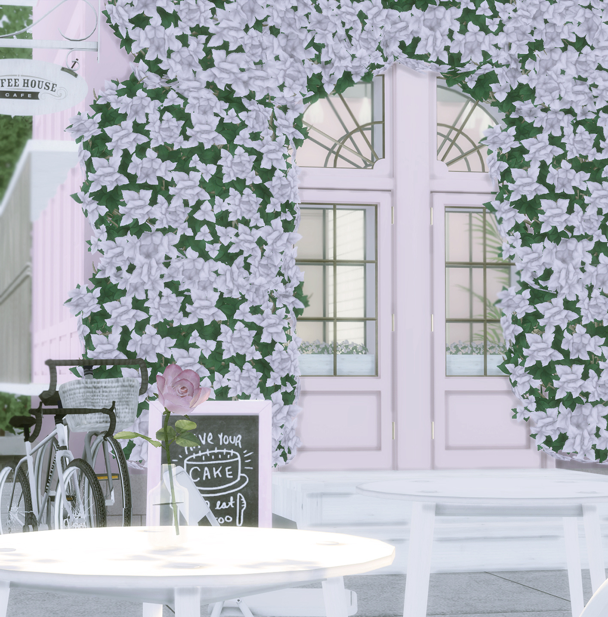 the_pink_pool_cafe by bellaisadellima