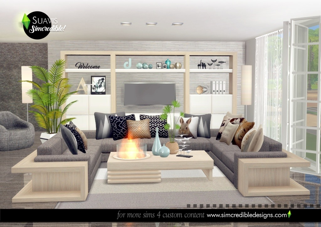 Suavis living room by SIMcredible