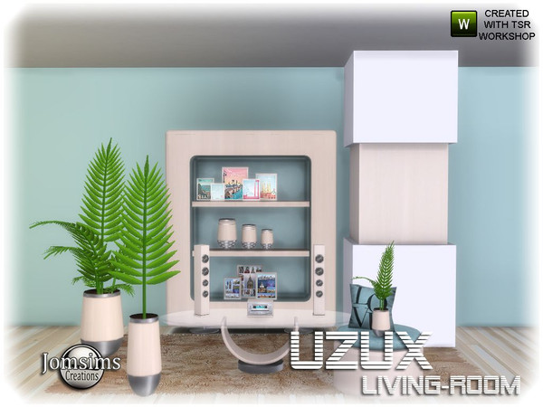 Uzux living room 1_2 by jomsims