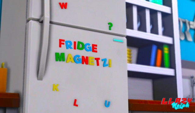 Магниты Fridge Magnets by llazyneiph