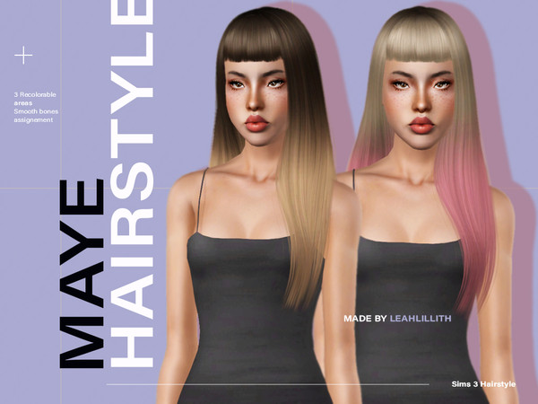 Maye Hairstyle by Leah Lillith