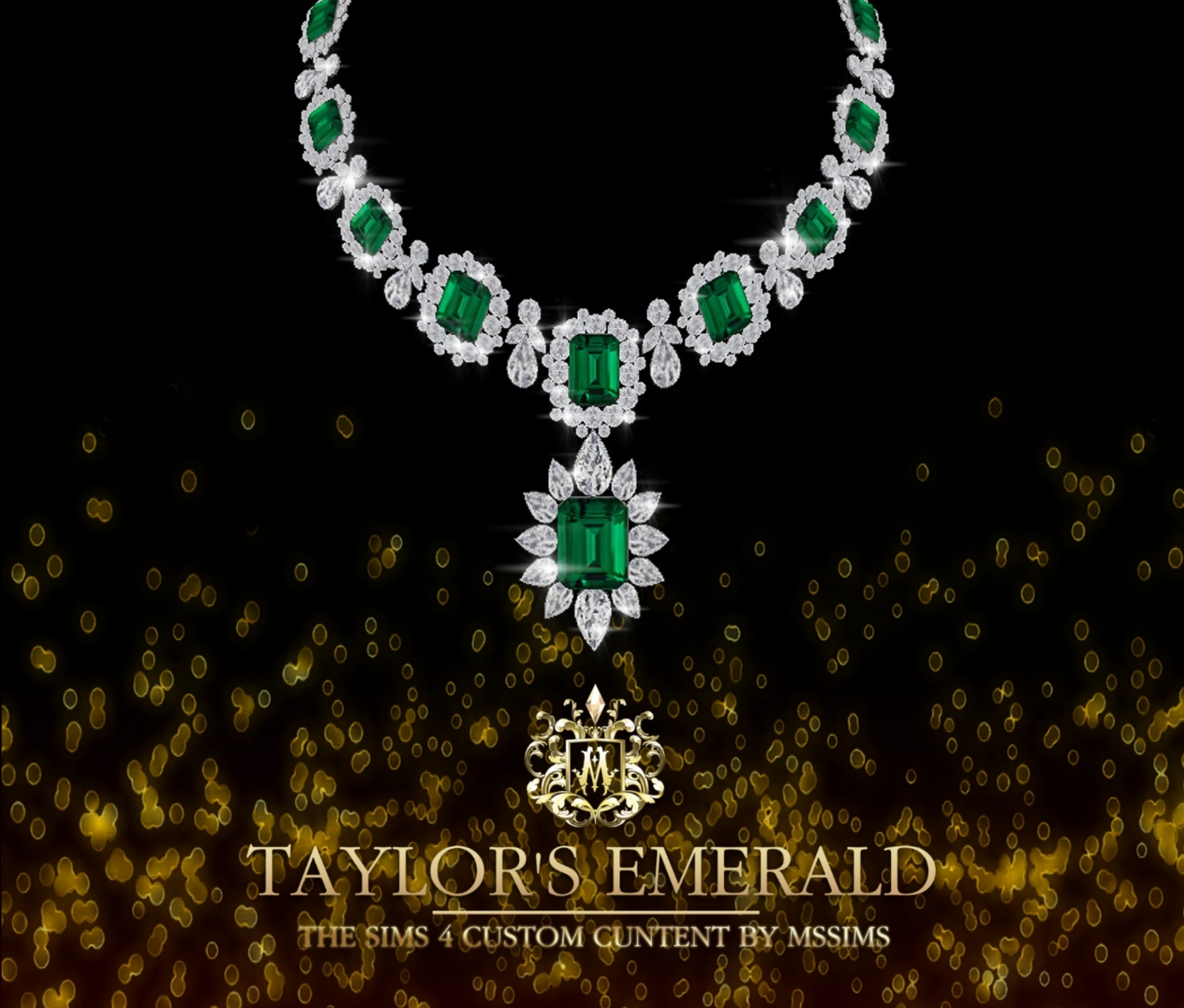 Pt-taylor-s-emerald-necklace by MSSIMS