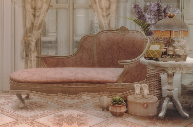 Cutie Victorian loveseat by AggressiveKitty