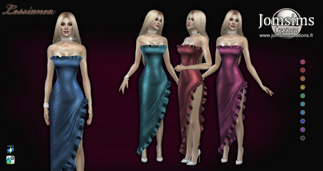 Lessianea dress by Jomsims