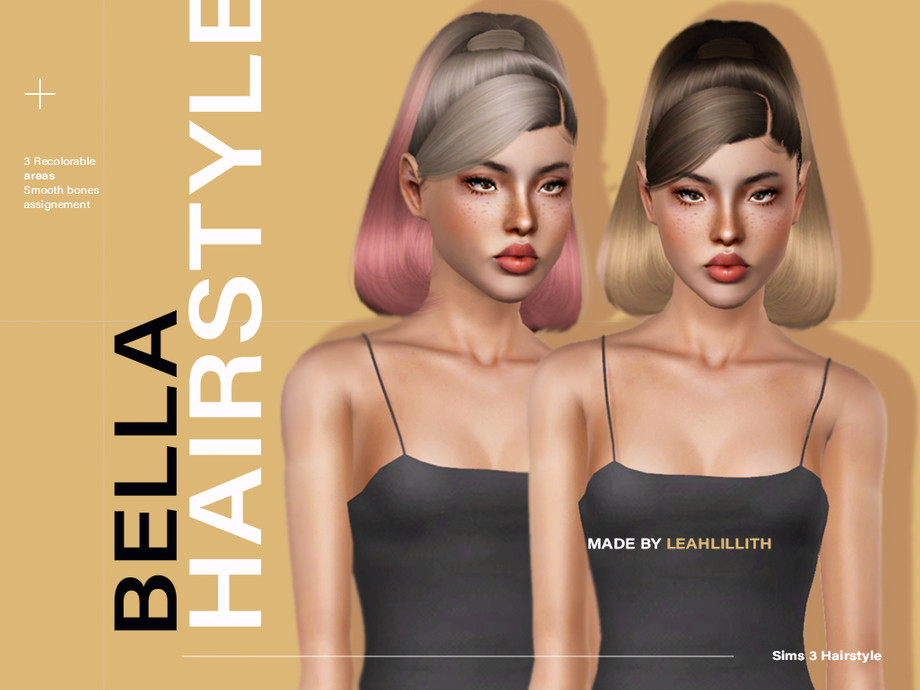 Bella Hairstyle by Leah Lillith
