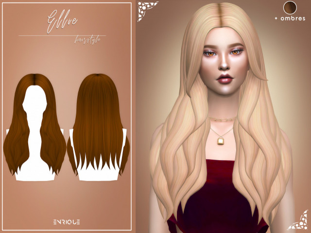 Ellie Hairstyle + Ombres by Enrique