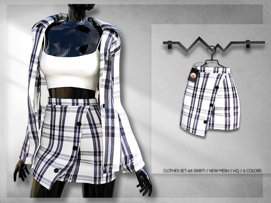 Clothes SET-64 (SKIRT) BD251 by busra-tr