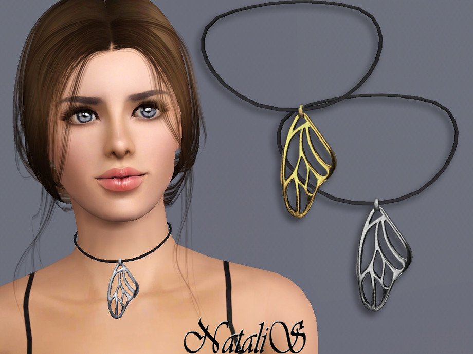 NataliS TS3 Butterfly wing pendant