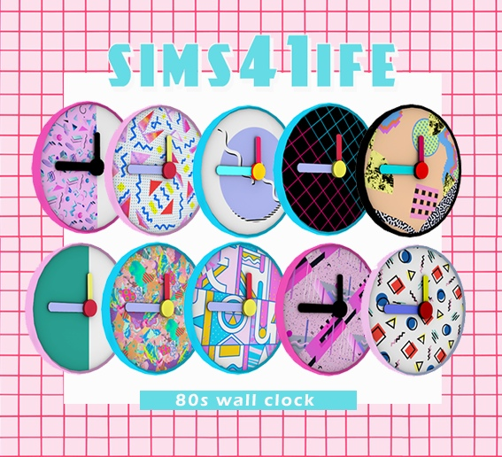 80s_clock by sims41ife