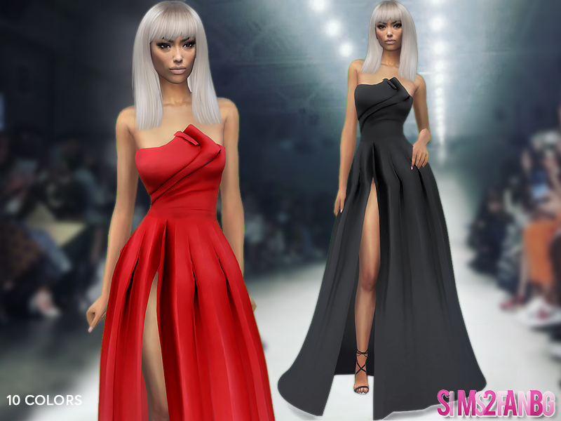 404 - Evening Gown by sims2fanbg