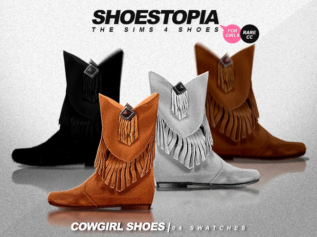 Сowgirl shoes_2 by Shoestopia