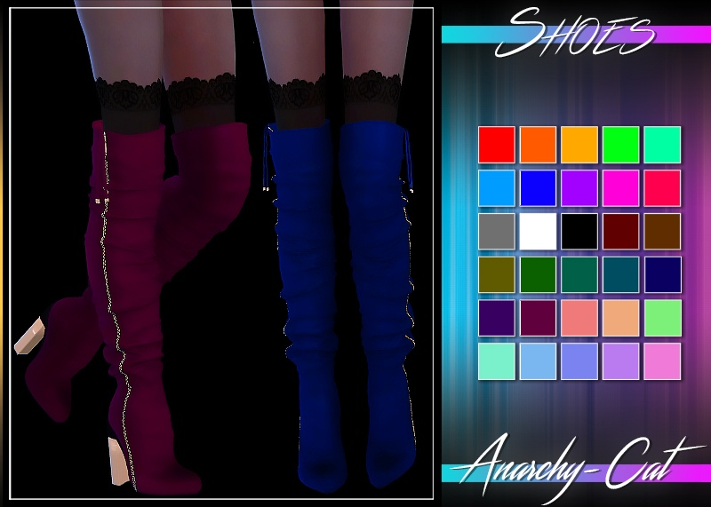 MilaSmith-Fashion High Heel Long Boots by Anarchy-Cat