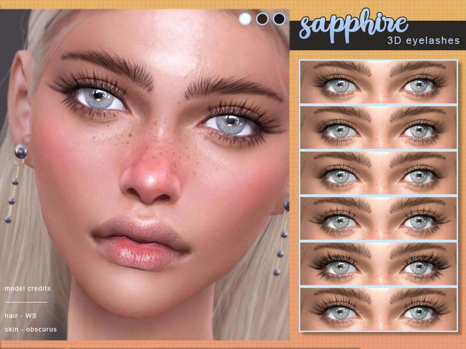 [ Sapphire ] - 3D Eyelashes by Screaming Mustard