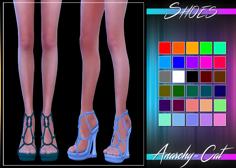 Shoes TRS №1 Remaster by Anarchy-Cat