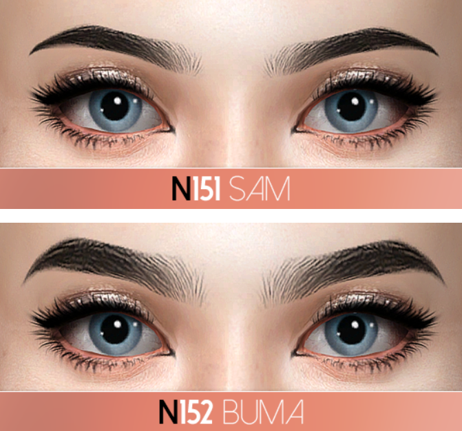 APRIL Eyebrow Pack by Pralinesims