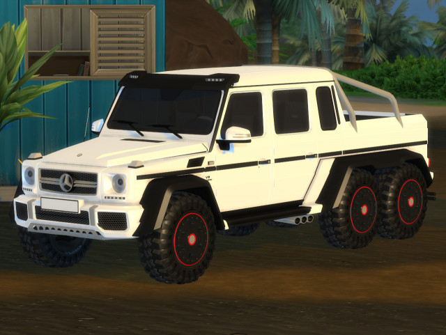 2014 Mercedes-Benz G63 AMG 6x6 by TylerWCars