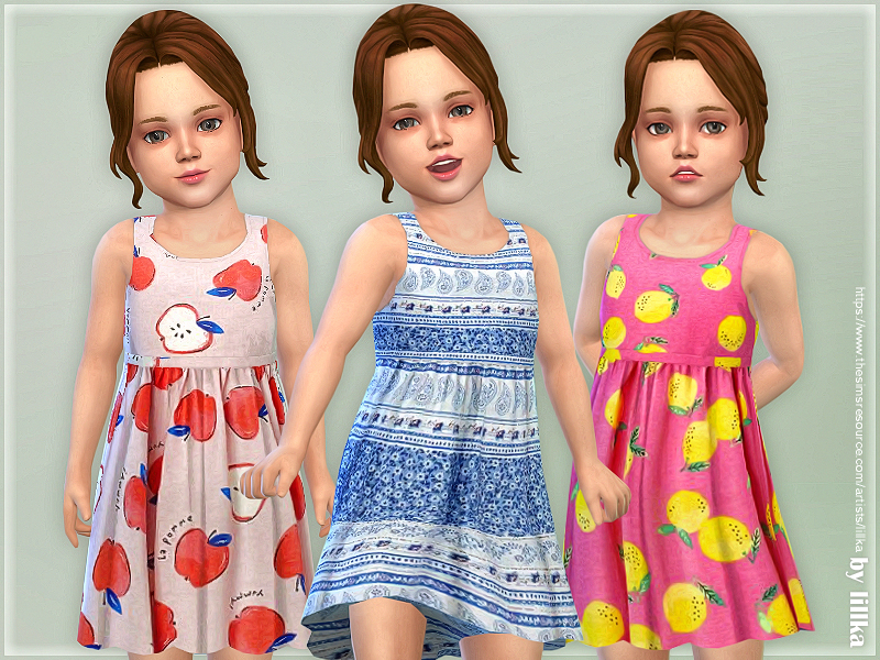 Toddler Dresses Collection P144 by lillka