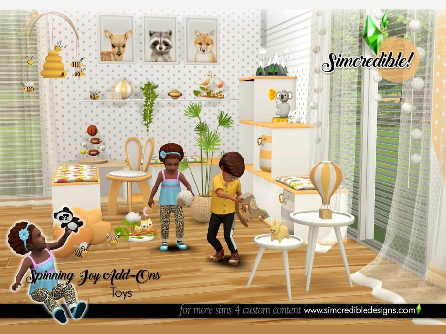 Spinning Joy Toys by SIMcredible