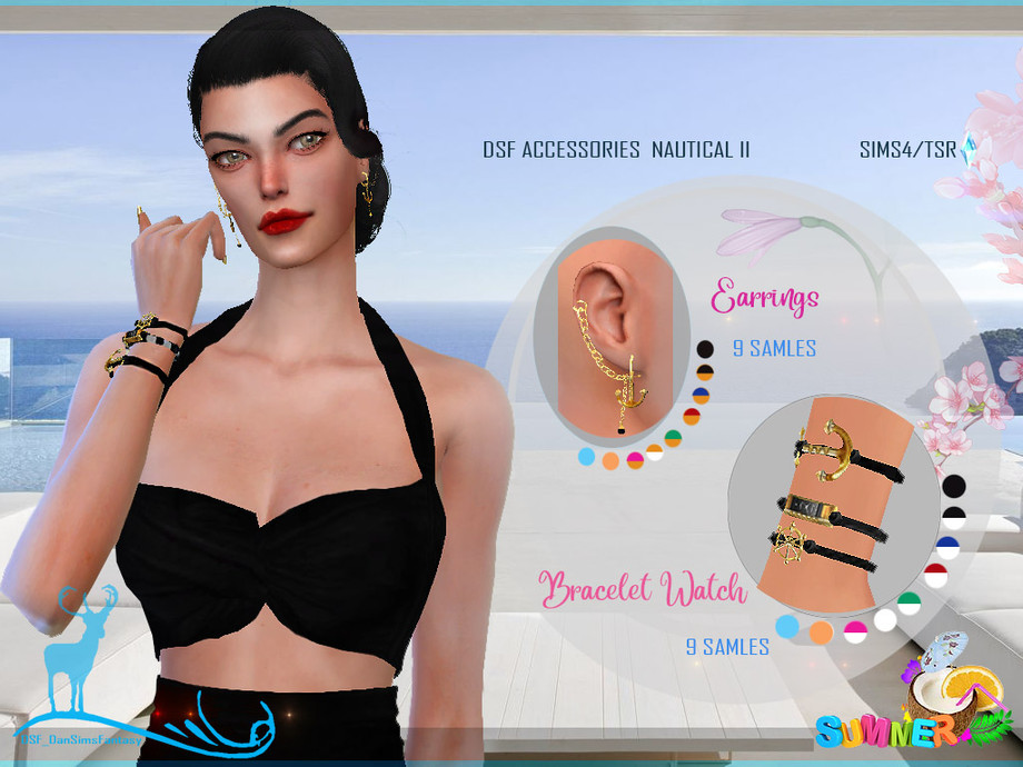 DSF ACCESSORIES NAUTICAL II by DanSimsFantasy