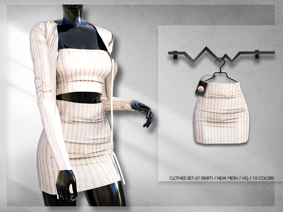 Clothes SET-67 (SKIRT) BD262 by busra-tr