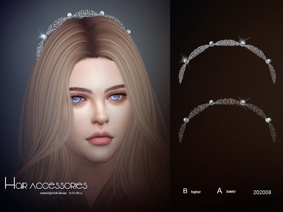 S-Club LL ts4 Hair Accessories 202008
