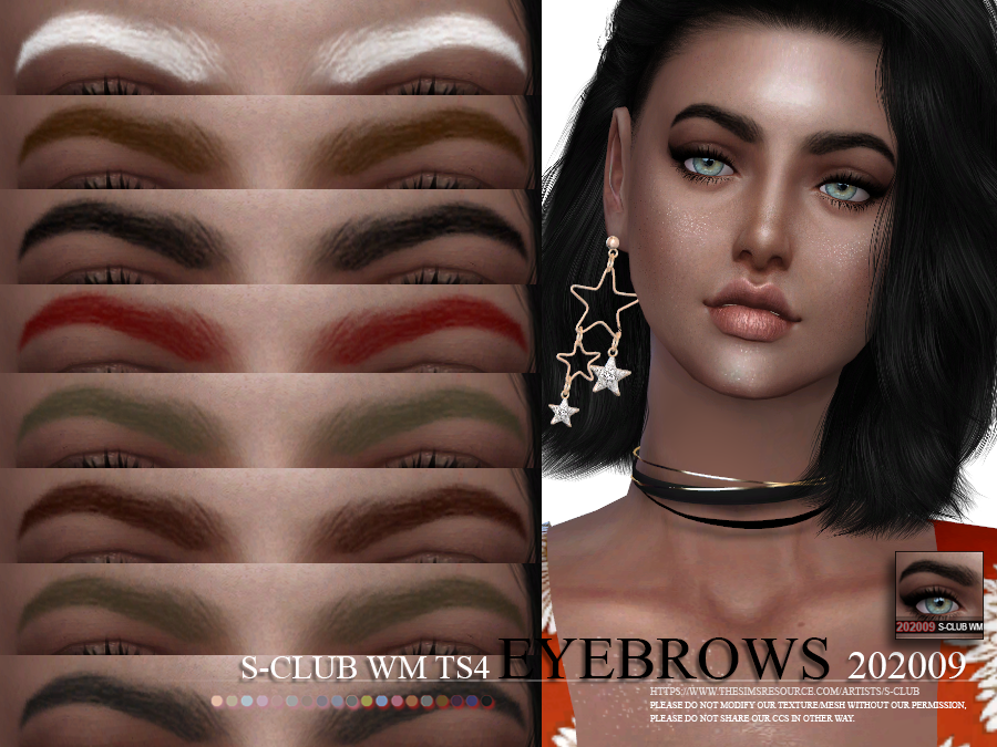 S-Club WM ts4 Eyebrows 202009