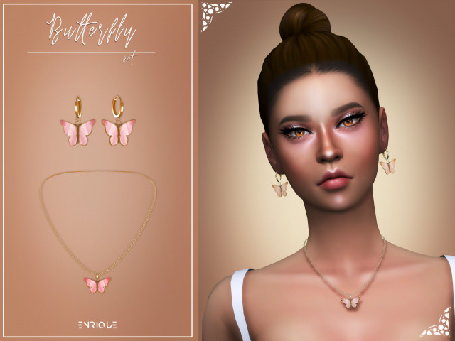 Butterfly Set by Enrique