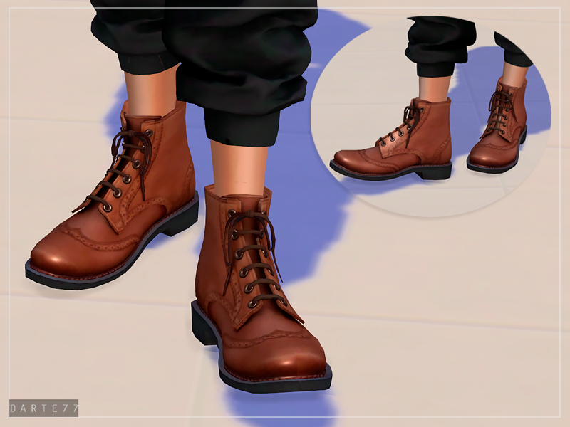 Brogue Boots - For Females by Darte77