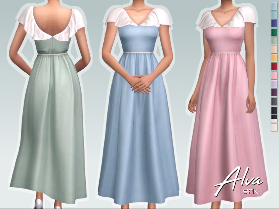 Alva Dress by Sifix