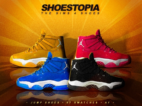 Jump Shoes by Shoestopia