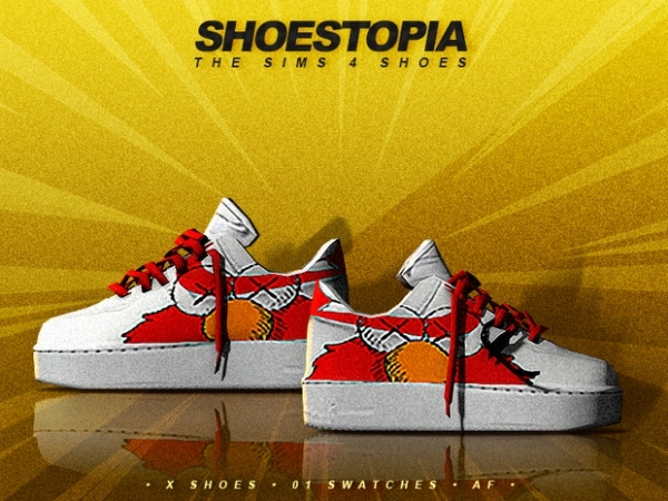 X Shoes by Shoestopia