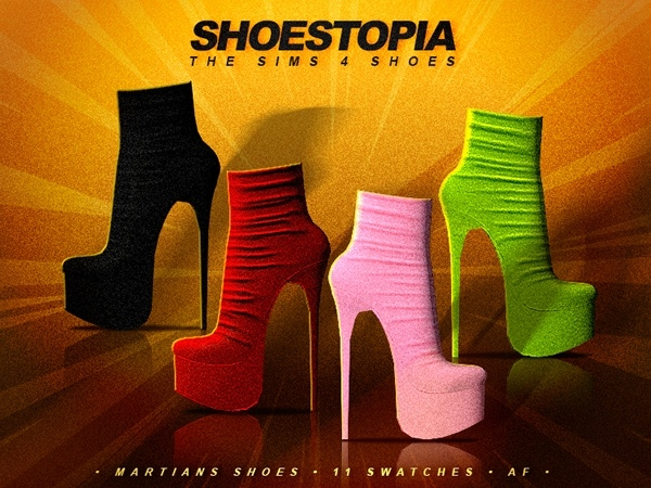 Martians Shoes by Shoestopia
