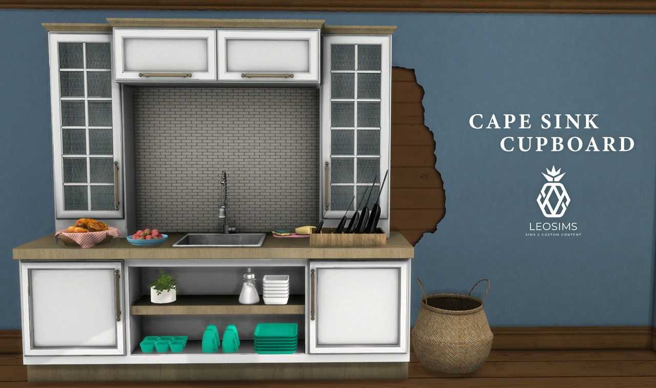 Cape Sink Cupboard by Leo-Sims