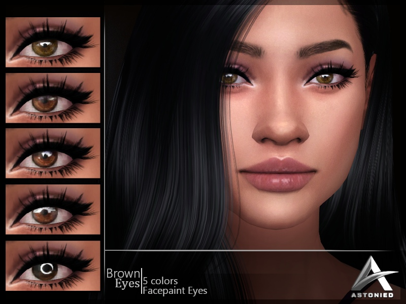 [A]  Brown Eyes by Astonied